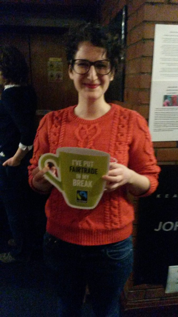 Fairtrade coffee at the Robert Burns Film Theatre